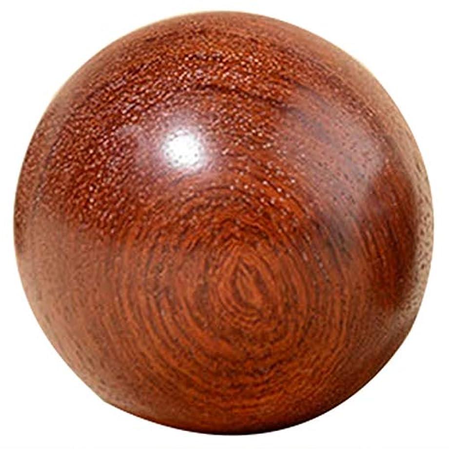 一貫した真っ逆さま母TOOGOO 6Cm 木製圧力Baodingボール、健康運動用ハンドボール、指のマッサージ、中国健康瞑想リラクゼーション療法