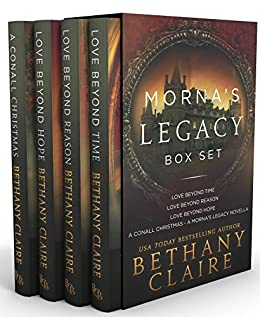 Morna's Legacy (Box Set #1): Scottish Time Travel Romances (Morna's Legacy Series) by [Claire, Bethany]