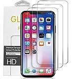 【3枚セット】iPhone XR ガラスフィルム アイフォンXR 強化ガラス 全面保護 フィルム 高硬度9H/高透過率/3D Touch対応/自動吸着/気泡ゼロ 6.1インチ対応 by maxvinci