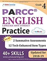 Parcc Test Prep: Grade 4 English Language Arts Literacy (Ela) Practice Workbook and Full-Length Online Assessments: Parcc Study Guide