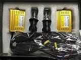 Global Dynamic HIDヘッドライト H4Hi/Lo切り替え式 リレーレース 12V専用 35W 8000K 「暗夜の輝き」シリーズ クイックスタートHIDキット 瞬間点灯式 1年保証