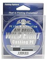 Fishing Fighters(フィッシングファイターズ) PEライン エアブレイド ワイルドエイト キャスティングPE 150m 1.2号 24.5lb ホワイト FF-ABWC150-1.2