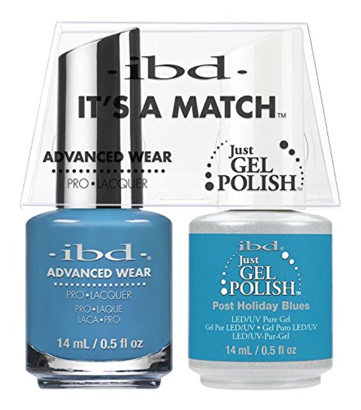 赤字馬鹿親指ibd - It's A Match -Duo Pack- Post Holiday Blues - 14 mL / 0.5 oz Each