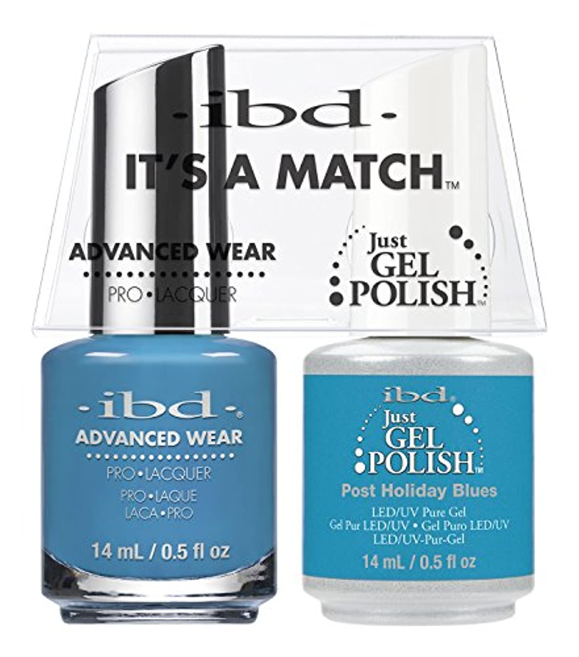 消える十億使役ibd - It's A Match -Duo Pack- Post Holiday Blues - 14 mL / 0.5 oz Each