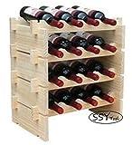 SSY Trd.重ねて便利 見せる 収納 ワインラック ワインホルダー 木製