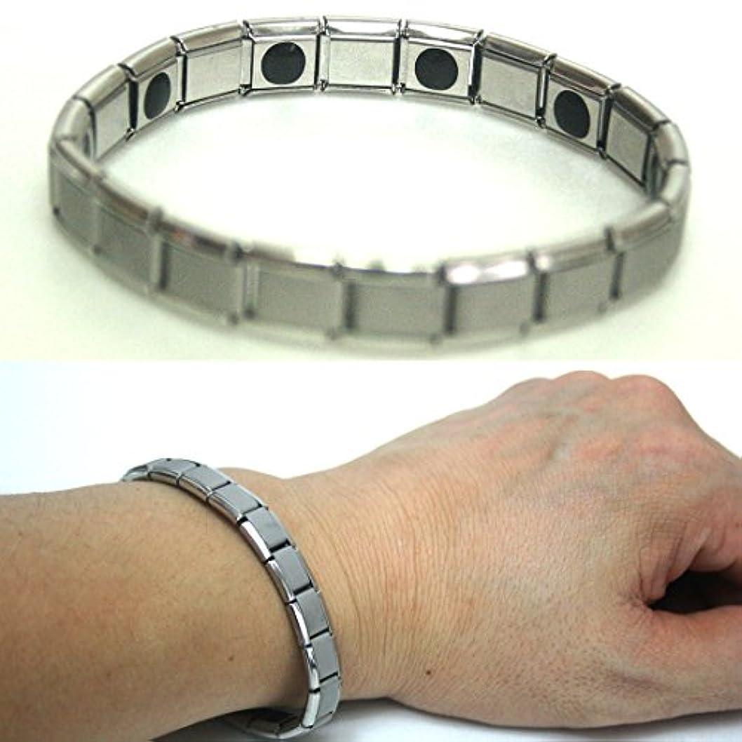 回るアライアンス勃起ゲルマニウムアニオン健康電力エネルギーブレスレット10ストーンズ / Germanium anion health Power Energy bracelet 10 Stones /イージーバンドタイプ / Easy Band Type / 1EA [並行輸入品]