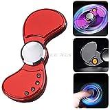 多機能 指スピナー ハンドスピナー 金属 EDC Hand Finger Fidget Spinner Toy - LEDライトFantasticナイトライト 多機能のコルク抜き - セラミックのボー