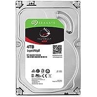 "Seagate IronWolf 3.5"" 4TB 内蔵ハードディスク HDD 3年保証 6Gb/s 64MB 5900rpm 24時間稼動 PC NAS向け ST4000VN008"