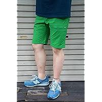 【NARIFURI】 MINI RIP POCKETABLE SHORT PANTS -GREEN- NF793 ナリフリ ミニリップ ポケッタブル ショートパンツ グリーン