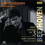 ベートーヴェン:ピアノ協奏曲第3番/ヴァイオリン協奏曲(ピアノ版)[SACD]