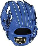 ZETT(ゼット) 野球 軟式 グラブ (グローブ) デュアルキャッチ オールラウンド 左投用 ブルー(2300) RH BRGB34820