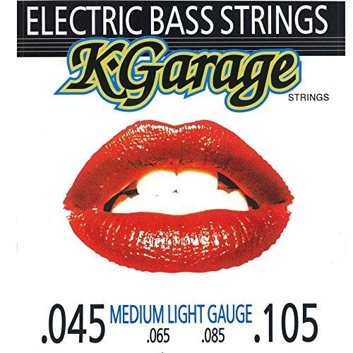 K-GARAGE ベース弦 B/G .045-.105 ミディアム-ライトゲージ