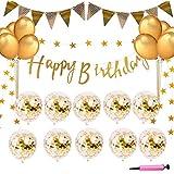 誕生日 飾り付け バルーン happy birthday ガーランド 風船 誕生日 飾り セット (A)