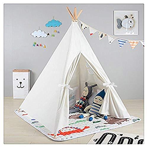 Dreamskull キッズテント 子供 ティピーテント テントハウス 簡易テント 誕生日 出産祝 プレゼント 秘密基地 子供用テント 室内用テント 子供用