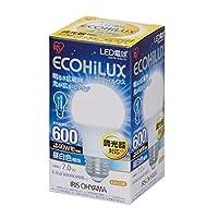 アイリスオーヤマ LED電球 調光器対応 口金直径26mm 40W形相当 昼白色 広配光タイプ 密閉形器具対応 エコハイルクス LDA7N-G/D-V1