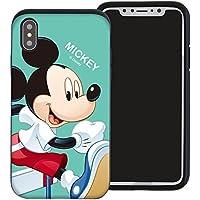 7cd2d7fd4b iPhone XR ケース Disney Mickey Mouse ディズニー ミッキーマウス ダブル バンパー ケース/二層構造