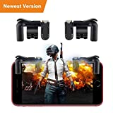 PUBG Mobile Game Controller Rademax Sensitive Shoot and Aim Buttons L1R1 for Knives Out/PUBG/Rules of Survival Cellphone Survival Game Controller PUBG Mobile Game Joystick for Android IOS iPhone [並行輸入品]