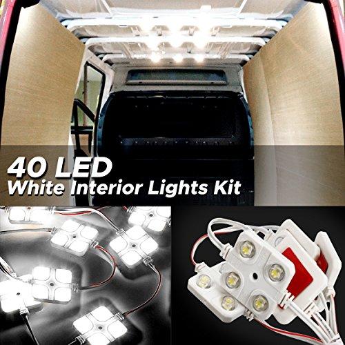 AUDEW 40LED 14W LEDルームランプ LED室...