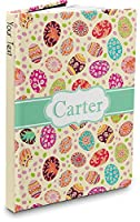 """Easter Eggs Hardbound Journal (Personalized) Large (7.25"""" x 10"""")"""