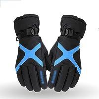冬メンズ裏地スエード手袋冬サイクリングスキー手袋防水