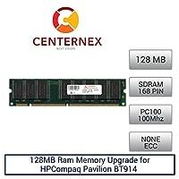 128MB RAMメモリfor HPCompaq Pavilion bt914(pc100) デスクトップメモリアップグレードby US Seller