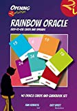 Opening2Intuition Rainbow Oracle: 40 Oracle Cards and Guidebook Set 画像