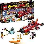 LEGO Monkie Kid 80019 Red Son's Inferno Jet (299 Pie