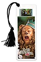 Filmcellsウィザードのオンス( Cowardly Lion )ブックマークwith Tassel and Real 35mm Filmクリップ