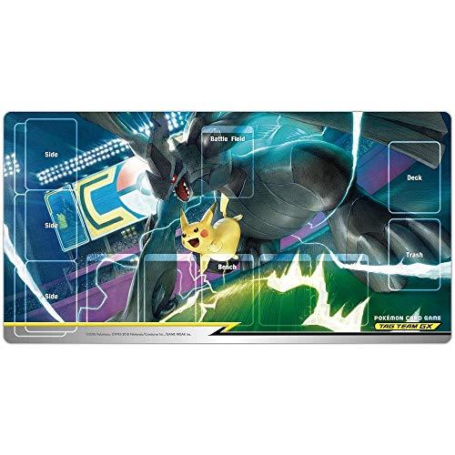 ポケモンカードゲーム ラバープレイマット ピカチュウ&ゼクロム TAG TEAM GX