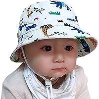 cae732057d2c4 Sumyam ベビー帽子 赤ちゃん ハット 日よけ キャップ サファリハット 子供 サンバイザー フィッシャーマンハット
