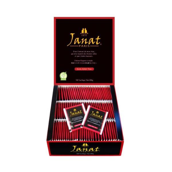 Janat ジャンナッツ アールグレイ 2g×100Pの商品画像