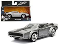 "Dom's Ice Charger Fast & Furious F8""The Fate of the Furious"" Movie 1/32 Diecast Model Car by Jada サイズ : 1/32 [並行輸入品]"
