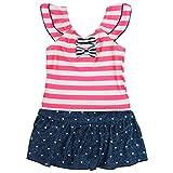水着 赤ちゃん ベビー 女の子 スカート付き ワンピース 水着 水遊び ベビー水着 ピンク 95cm