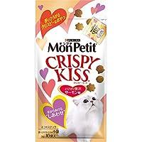 モンプチ クリスピーキッス 贅沢サーモン味 30g(3g×10袋)×5個セット [猫用おやつ]