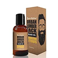 Urban Lumberjack Beard Oil & Conditioner, Energizing Citrus, All-Natural 2 oz