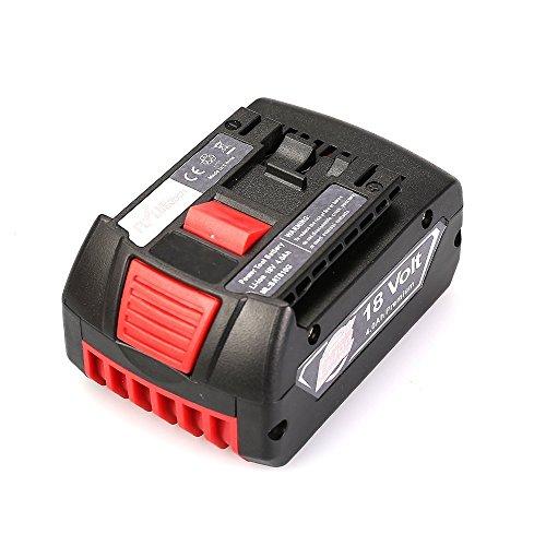 Flylinktech®BOSCH(ボッシュ) 18V 5.0Ah リチウムイオンバッテリー 超大容量 コードレスドリルBAT609 BAT610G BAT618 BAT619