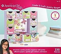 American Girl Crafts Create and Craft Jewelry Keeper [並行輸入品]