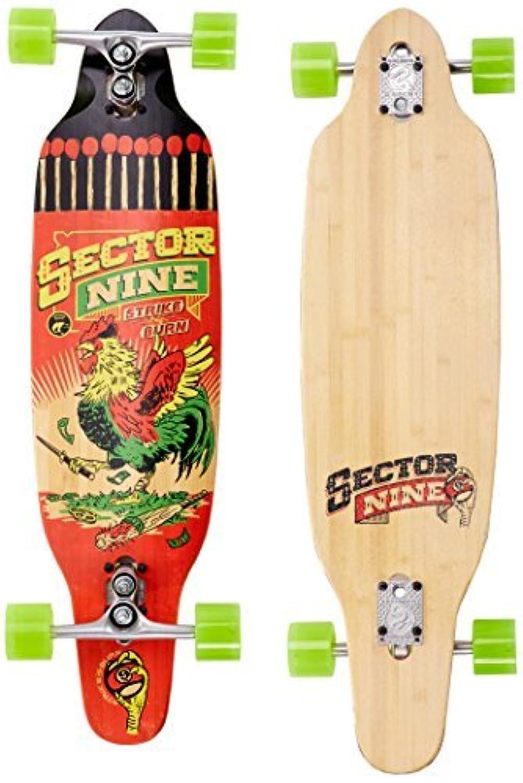 Sector 9 Striker Complete Skateboard Red [並行輸入品]