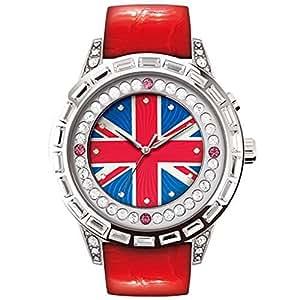 [ロマゴ デザイン]ROMAGO DESIGN 腕時計 レディース DAZZLE ダズル RM006-0310ST-RD [正規輸入品]