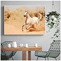 馬動物キャンバス壁の装飾絵画、リビングルームプリントアート画像動物壁画北欧ポスターキャンバス