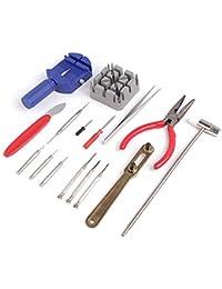 腕時計修理キットプロフェッショナルツールセット腕時計バックオープナーバンドピンストラップリンクリムーバー