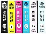 京阪soft エプソン 互換インク 6色セット IC6CL70L [増量] KE-001