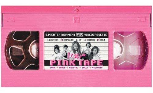 f(x) 2集 - Pink Tape (韓国盤)の詳細を見る