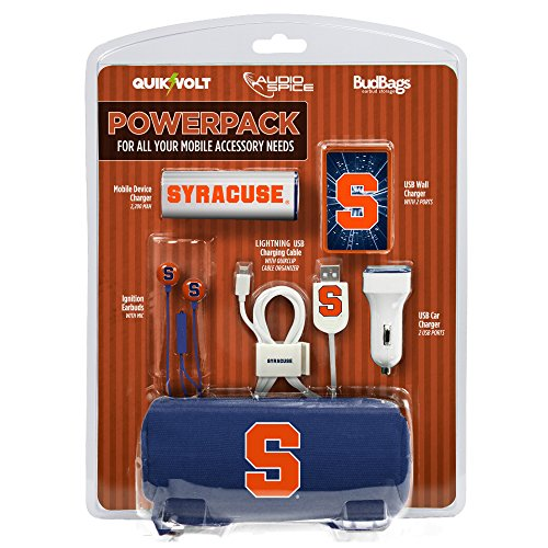Syracuseオレンジモバイルアクセサリーパワーパックwi...