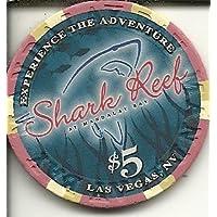 $ 5マンダレーベイShark Reef Obsoleteラスベガスカジノチップ