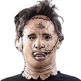 大人のマスク、ハロウィンゾンビマスクラテックス流血怖いフルフェイスマスクコスチュームパーティーコスプレプロップ