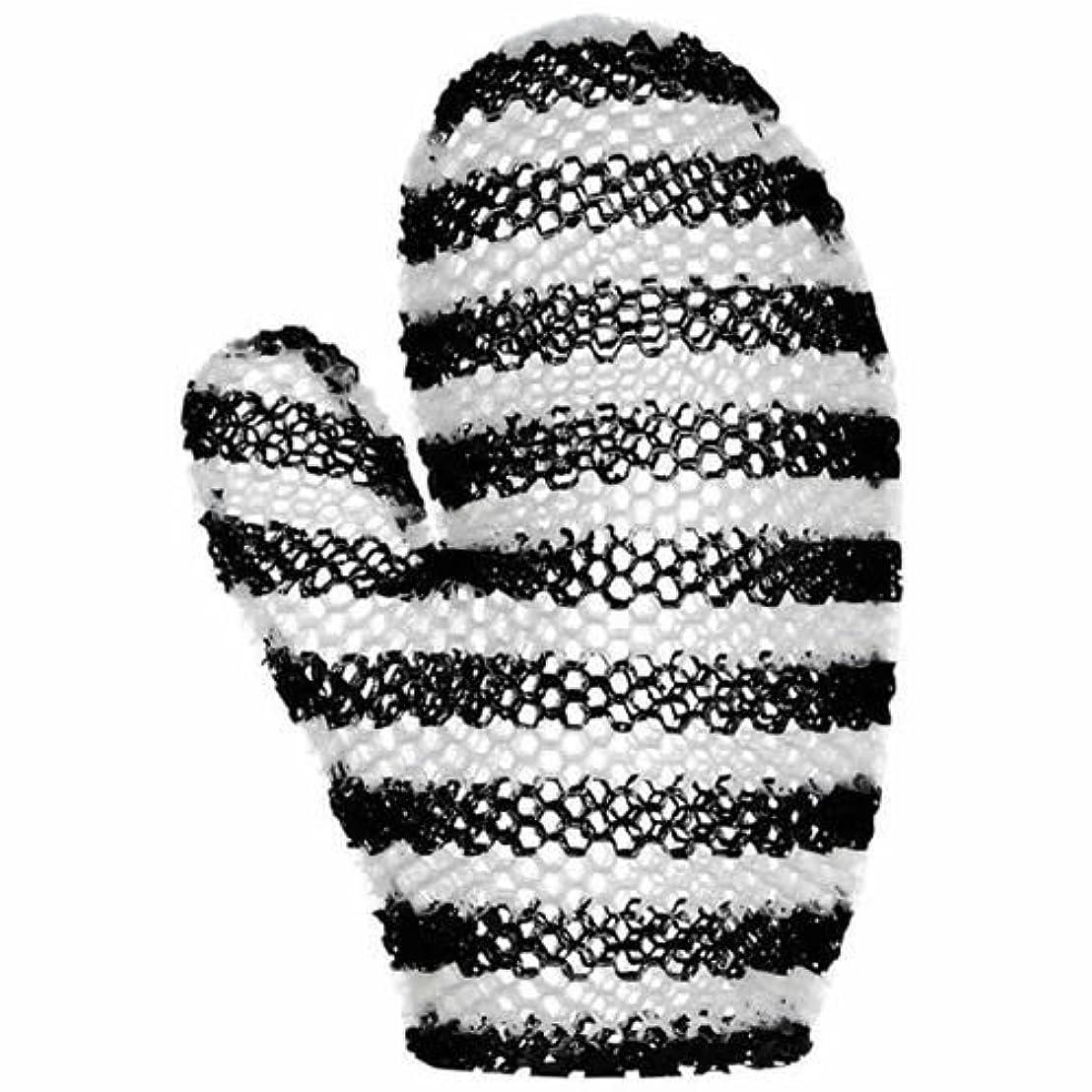 田舎拡声器温帯スプラコール ハニカム(ミット) ブラック&ホワイト