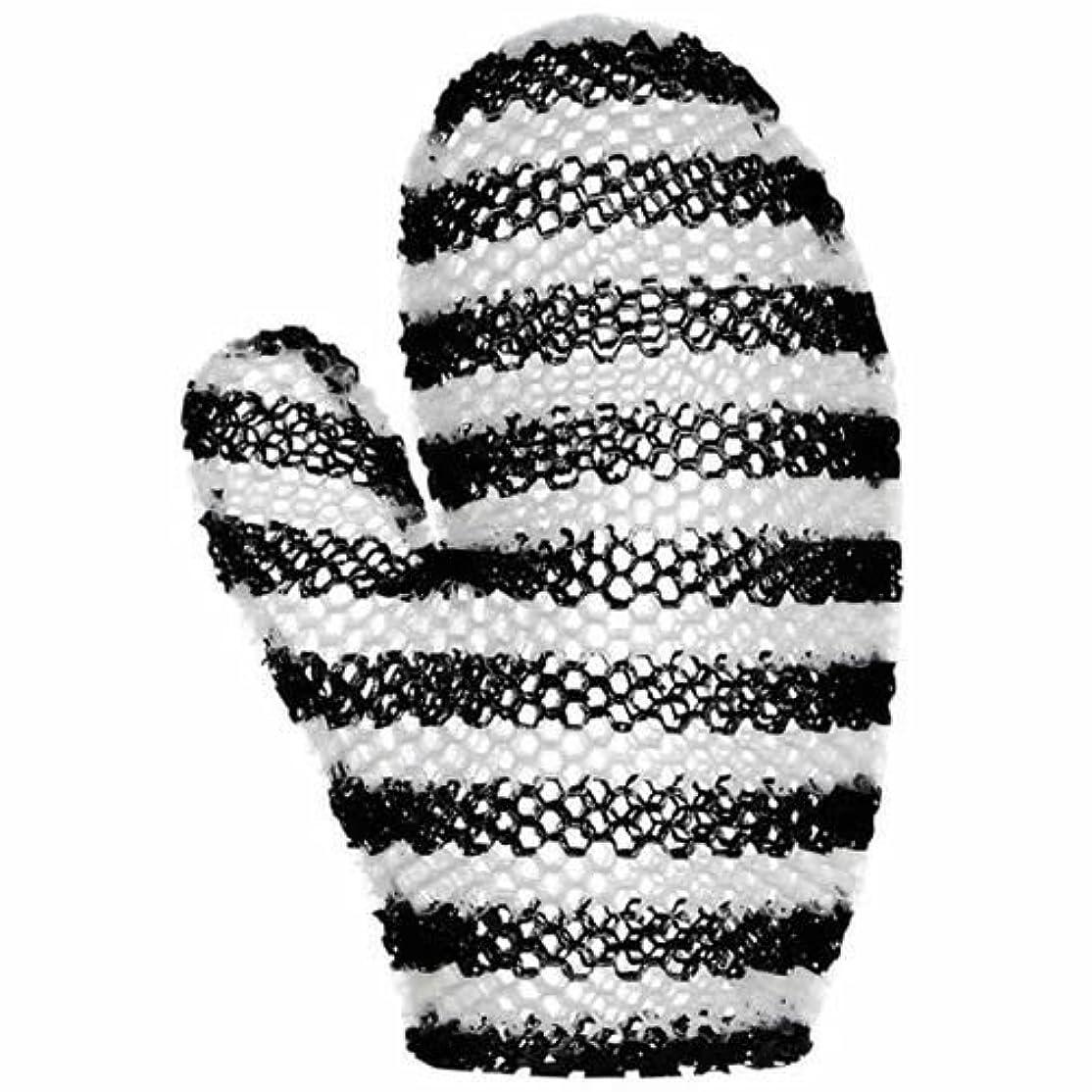 異なる輪郭区スプラコール ハニカム(ミット) ブラック&ホワイト