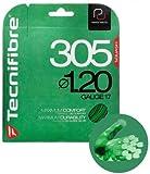 スカッシュラケット用ガット Tecnifiber テクニファイバー305 1.20ゲージ(緑)3本セット
