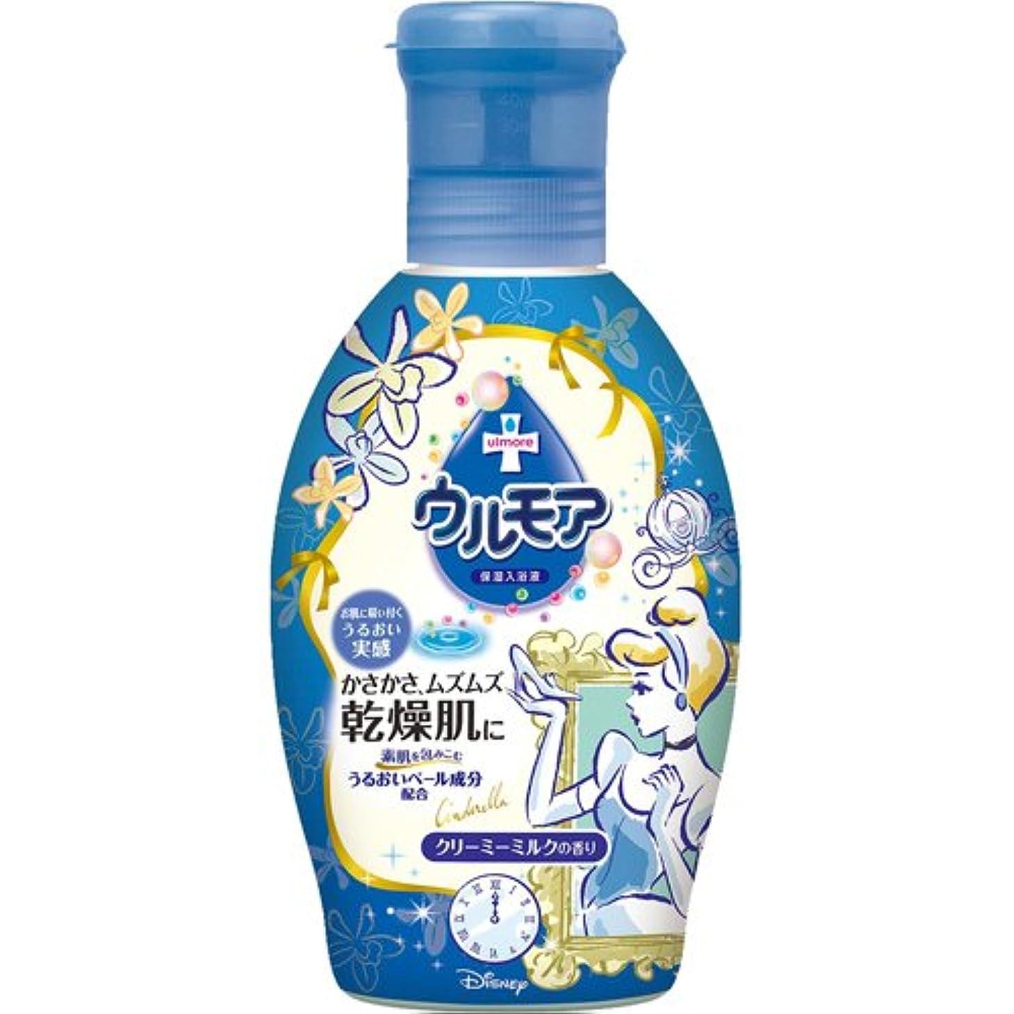 ピアース救急車分析するウルモア クリーミーミルクの香り ディズニープリンセス 600ml
